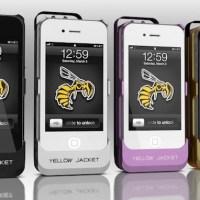 iPhone transformado em taser