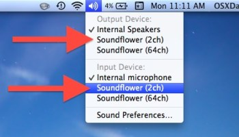 Enable HDMI Audio & Toggle Sound Output from Mac OS X Quickly
