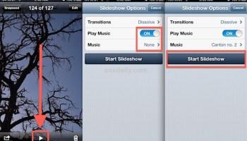 Change the Photo Slideshow Speed on iPad