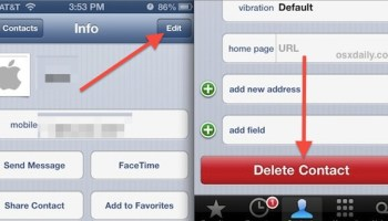 How to Merge Contacts on the iPhone from iOS