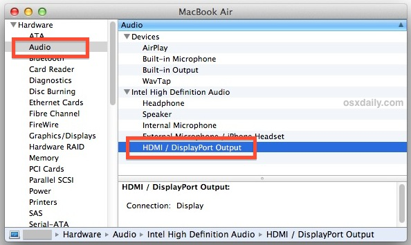 Make Your Mac Send Sound Output To Your Giant HDTV [OS X Tips]