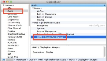 How to Connect a Mac to a TV with HDMI for Full Audio & Video Support