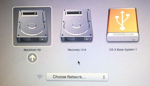 mac g5 boot from cd