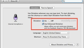 How to Remove the Enhanced Dictation 1 2GB Pack from Mac
