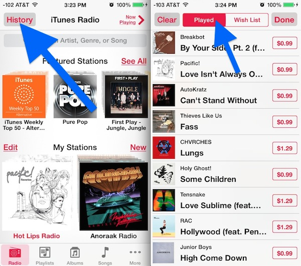 How to use itunes radio on iphone