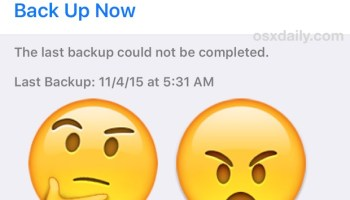 "Fix a ""iTunes Could Not Backup iPhone"" Error Message"