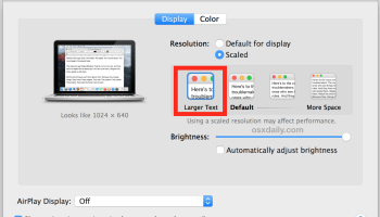How to Show All Possible Screen Resolutions for a Display in Mac OS