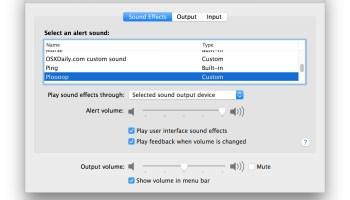 Bring Retro Macintosh Sound Effects to Mac OS X