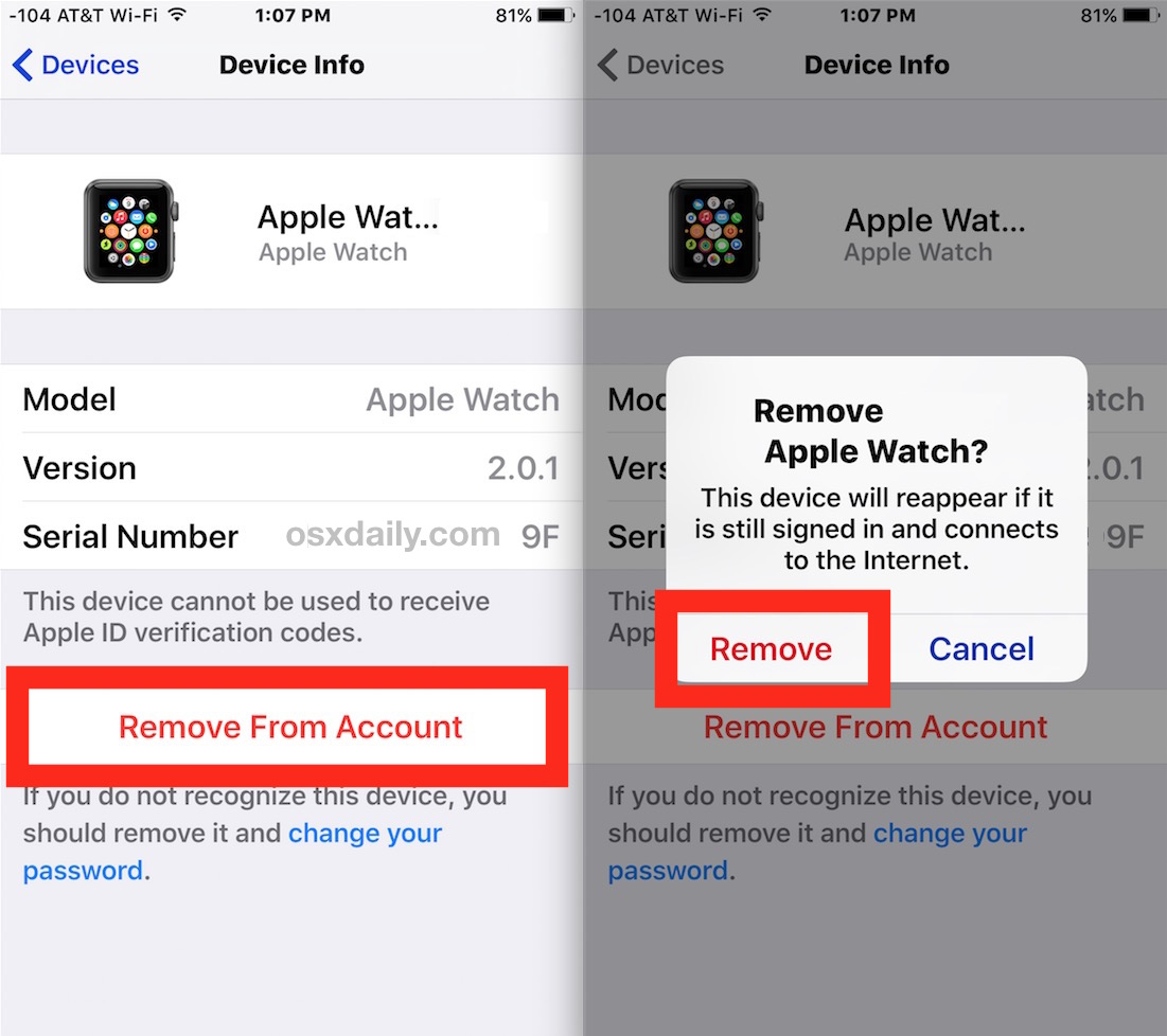 How to change an apple id on an iphone