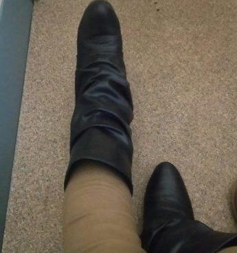 靴下重ね履き ブーツ