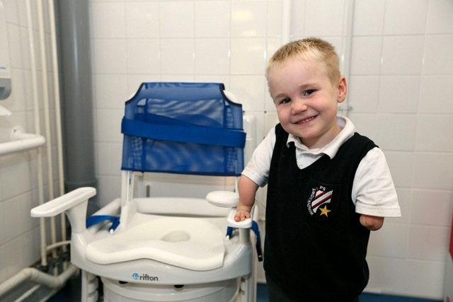 HOLISTIC APPROACH TO TOILET NEEDS EASES TRANSITION FROM HOME TO SCHOOL