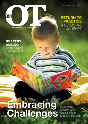 The March/April issue of The OT Magazine is out now!
