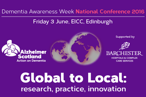 Alzheimer Scotland Annual Conference 2016