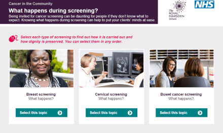 Free e-learning to support cancer care in the community