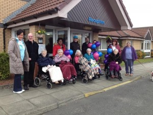 Residents of Bupa's Quayside care home