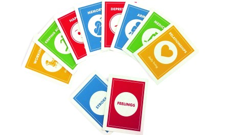New Stroke Touchpoint cards to help improve stroke rehabilitation