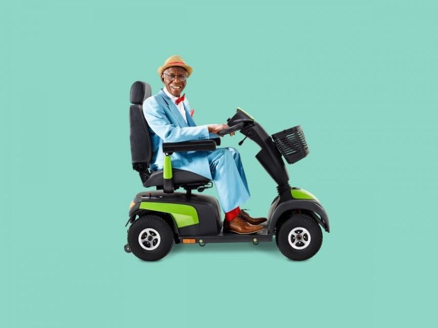 Invacare launch new scooters with a bold 'Style is Forever' campaign