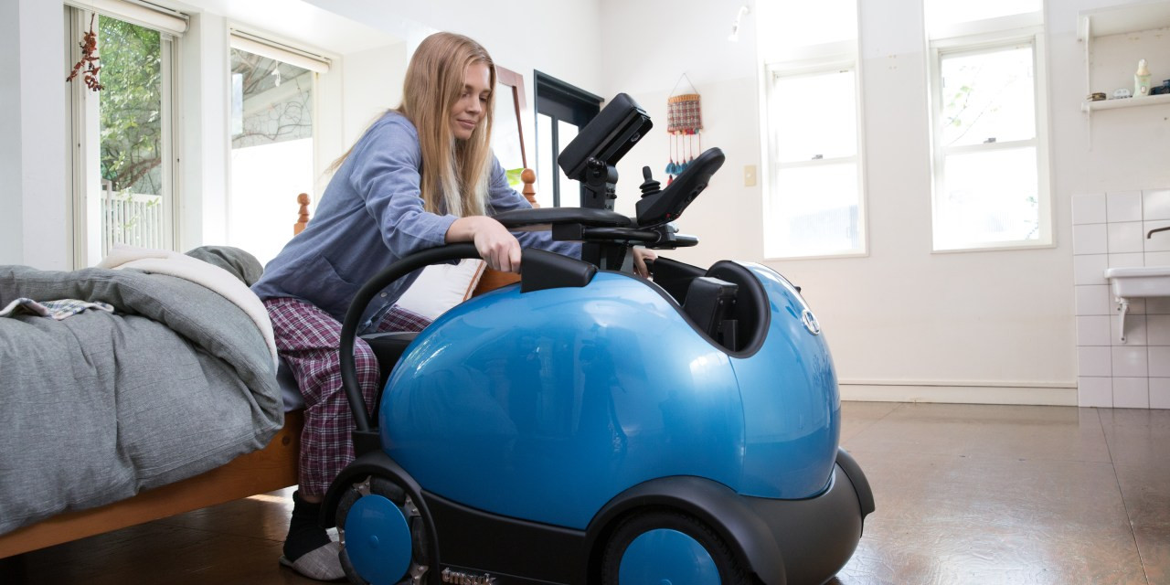 Ridable robot from Japanese robot maker on sale now