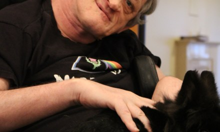 Care Home Customers Have No Time to Paws With Therapy Pet Visit