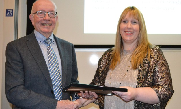 Greenock Care Home Manager Scoops Sue Pembrey Award