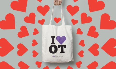 Get your exclusive 'I Love OT' bag today!