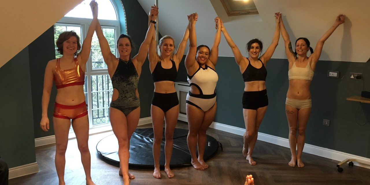 Pole Dancers Perform at Care Home