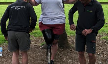 Amazing amputee puts C-Leg 4 through its paces