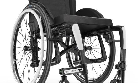 Perfect wheelchair for an active lifestyle