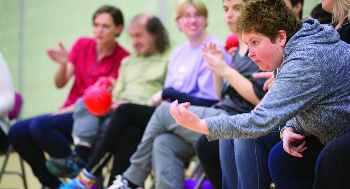 Sport For Confidence to deliver activity sessions to carers
