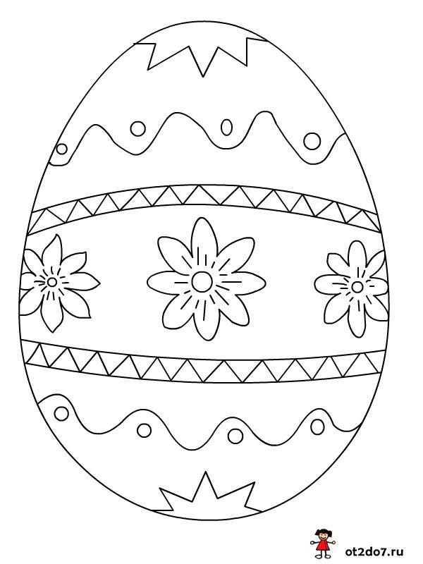 Картинки шаблоны пасхальных яиц