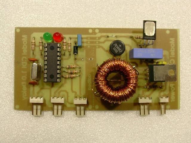 Circuit Of A Capacitive Discharge Firing Box Resembles This