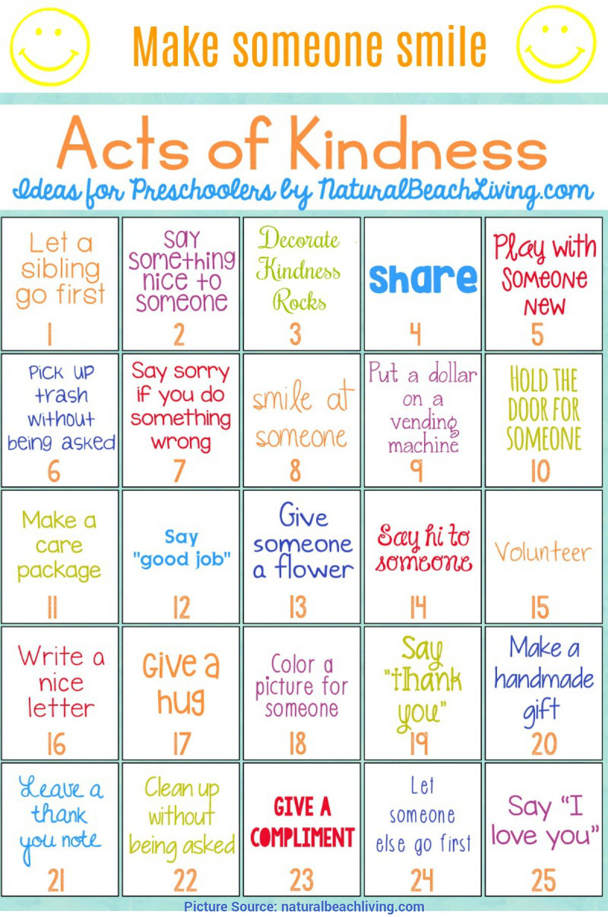 Best Preschool Lesson Plans About Kindness 25 Best Random