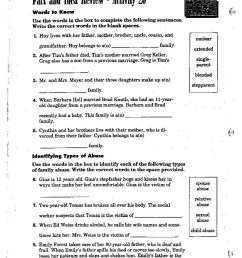 5th Health Worksheets   Printable Worksheets and Activities for Teachers [ 1559 x 1200 Pixel ]