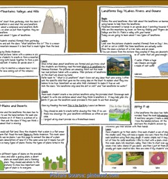 Excellent 3Rd Grade Science Lesson Plans On Landforms Foldables For Science    If You Need To Spice Up Your Landform Uni - Ota Tech [ 927 x 1200 Pixel ]