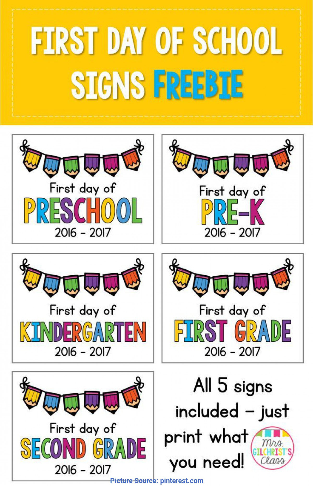 Fresh 1st Day Preschool Lesson Plans Best 25 School Signs