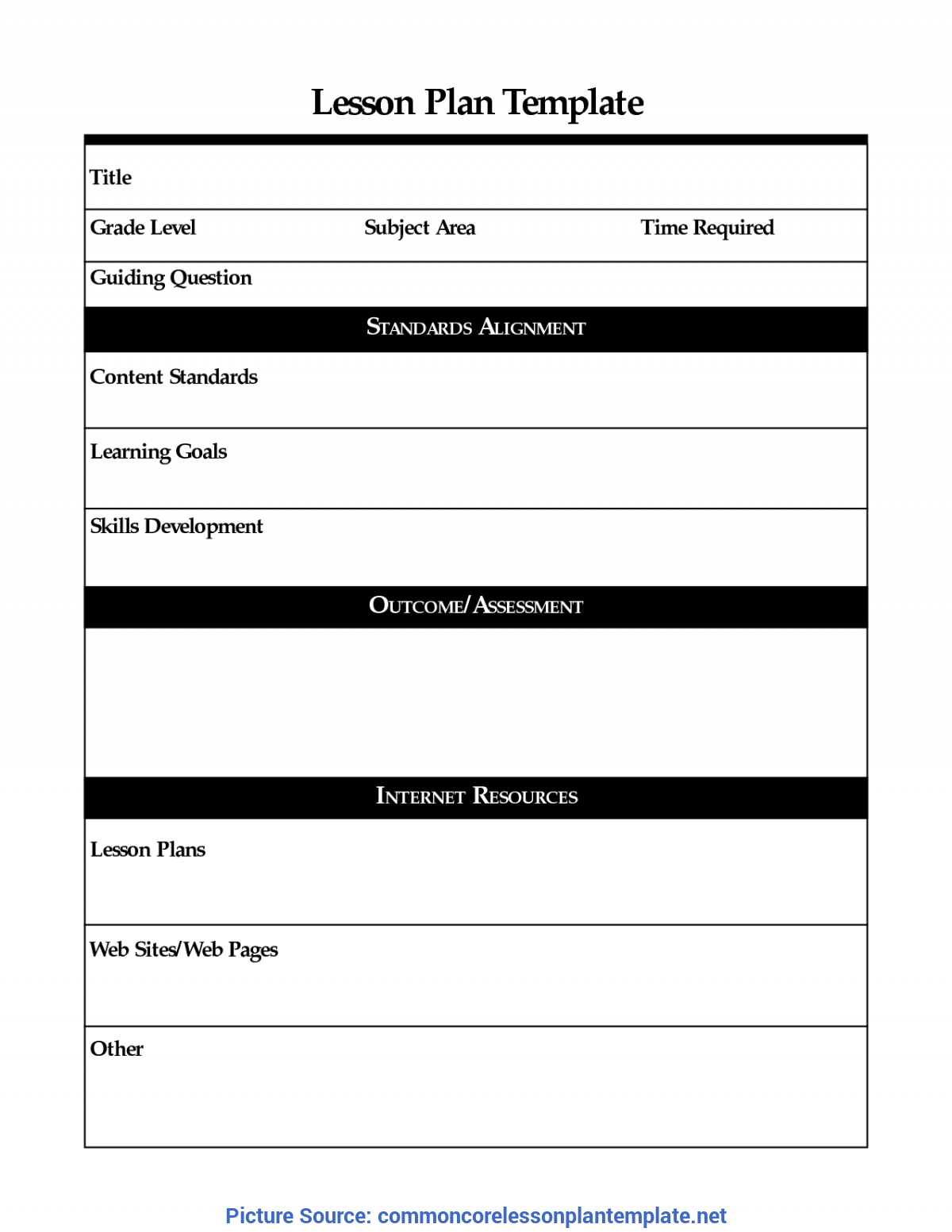 Useful Lesson Plan Examples Tefl Sample Lesson Plan