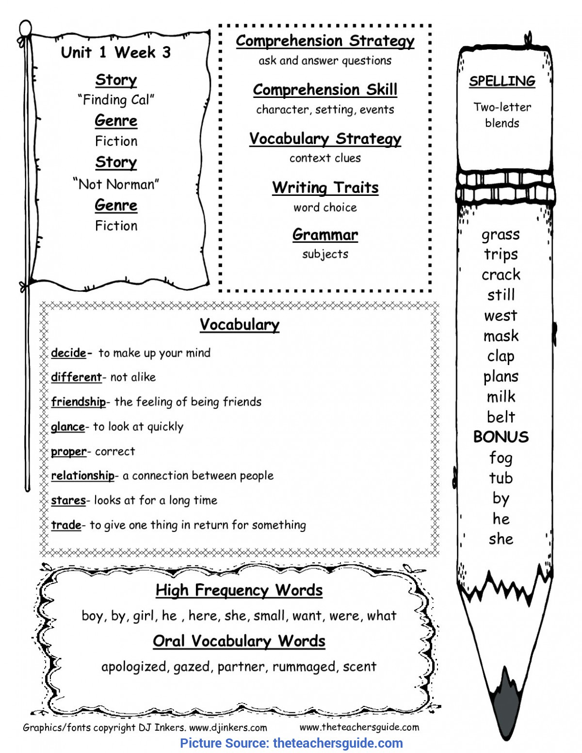 Good 2nd Grade Lesson Plans For Reading Comprehension