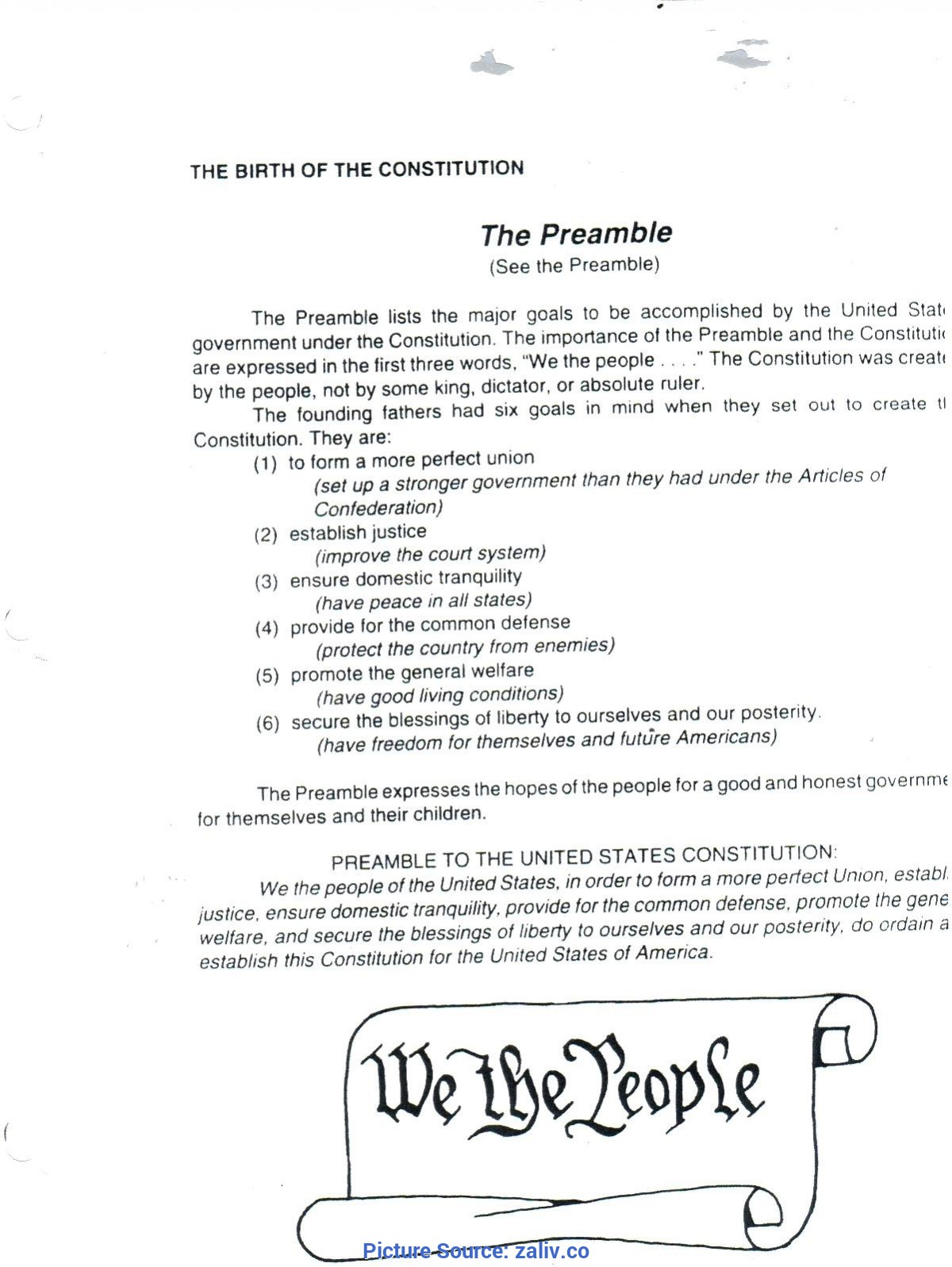 Good High School Lesson Plans Us Constitution Worksheet