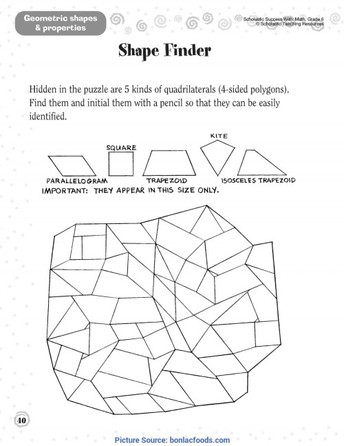 small resolution of Second Grade Plane Shapes Worksheet   Printable Worksheets and Activities  for Teachers