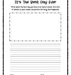 2nd Grade Writing Worksheets   Printable Worksheets and Activities for  Teachers [ 1553 x 1200 Pixel ]