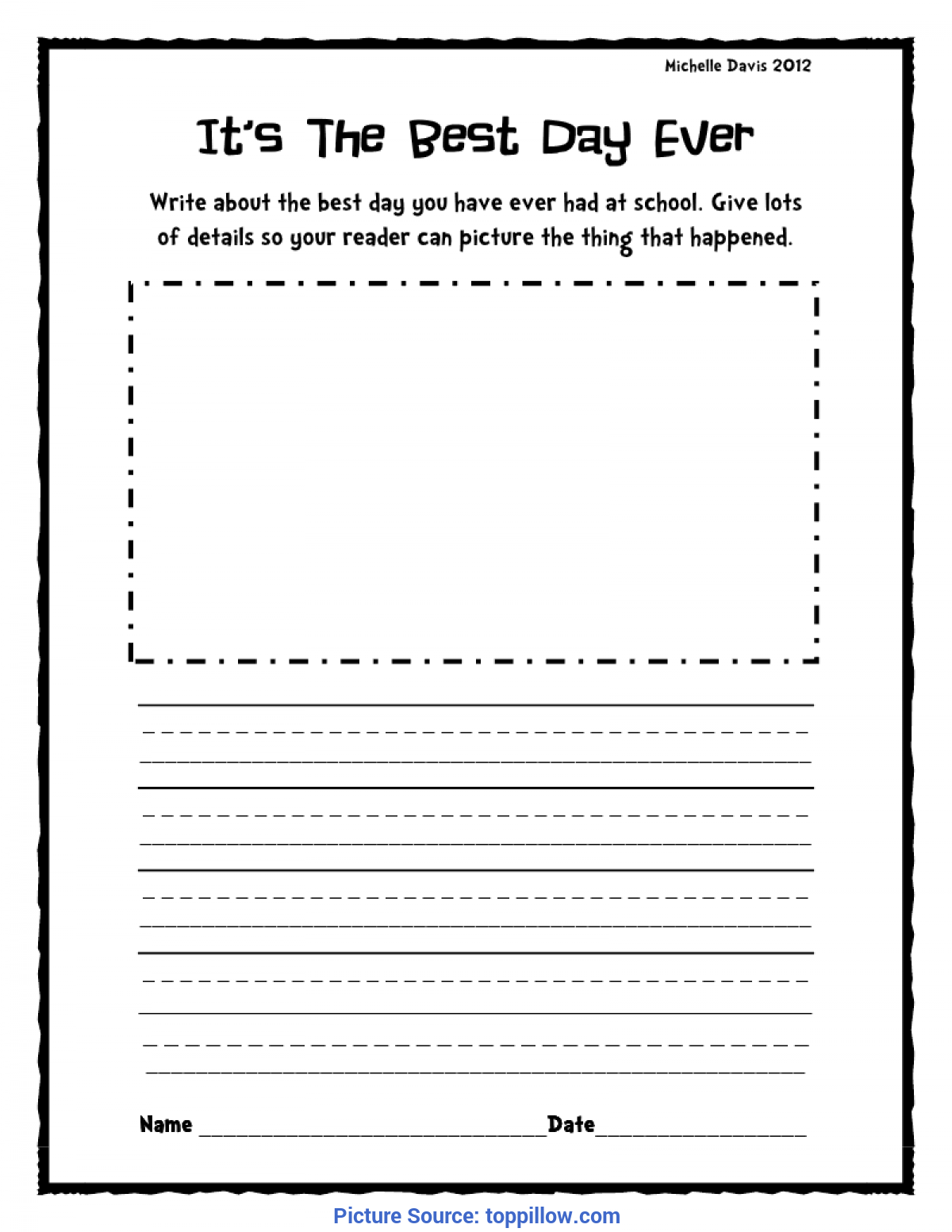 hight resolution of 2nd Grade Writing Worksheets   Printable Worksheets and Activities for  Teachers