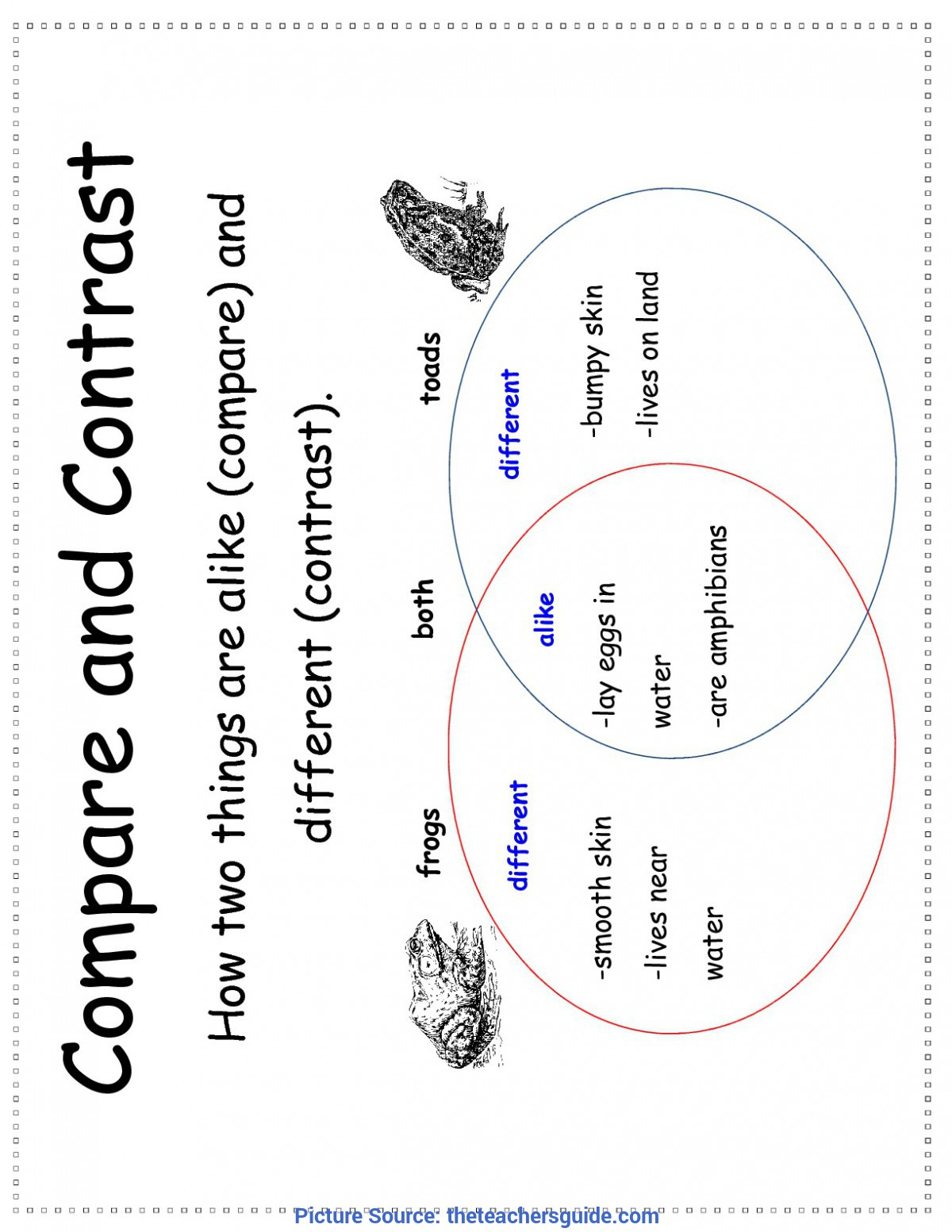 Regular 3rd Grade Lesson Plans On Compare And Contrast