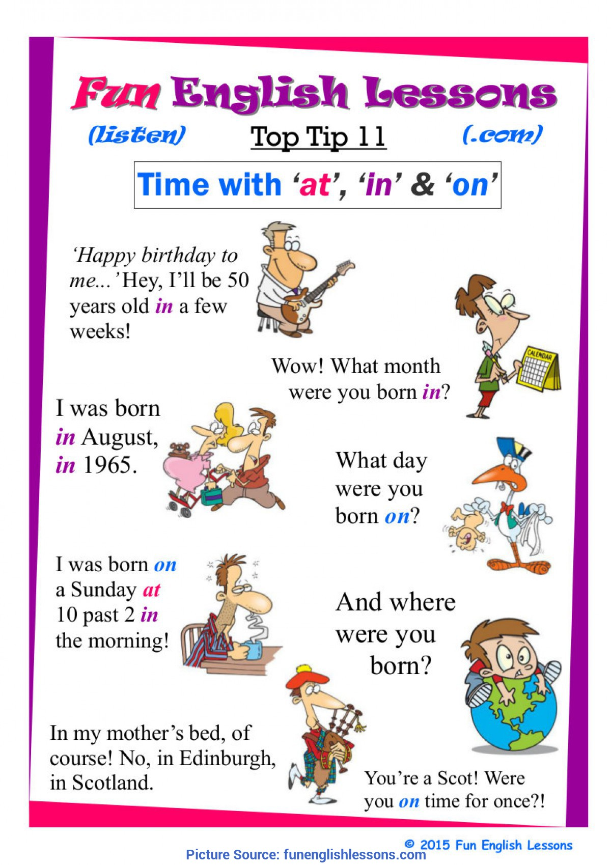 Regular Lessons For 2 Year Olds Fun English Grammar Lesson