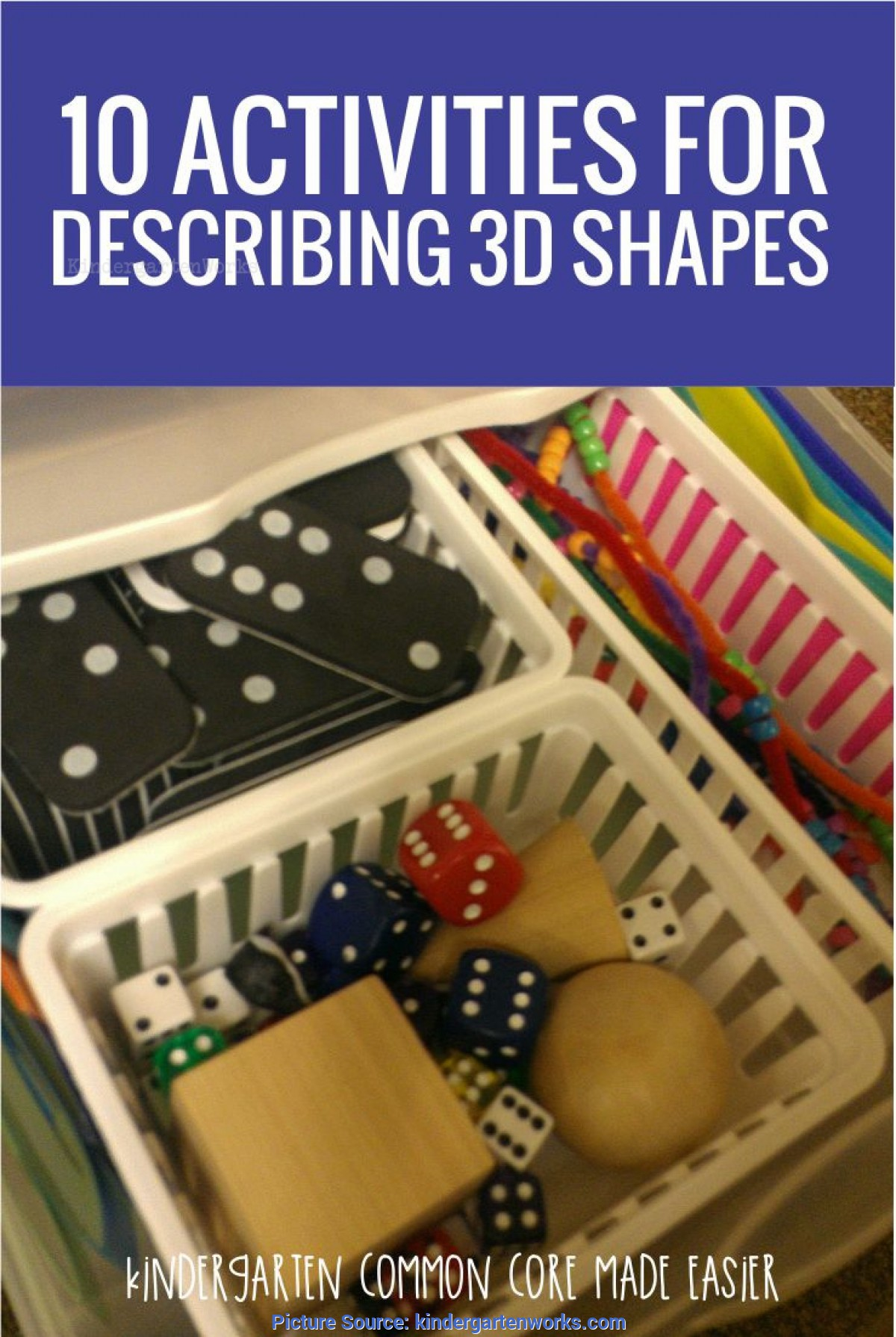 Simple Kindergarten Lesson Plans 3d Shapes 10 Activities