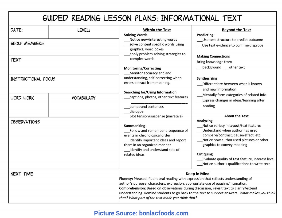hight resolution of Simple Lesson Plan Example 4Th Grade Worksheets For All   Download And  Share Worksheets   Free O - Ota Tech