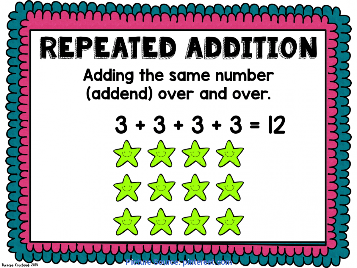 Simple Repeated Addition Lesson Plans 2nd Grade Skip
