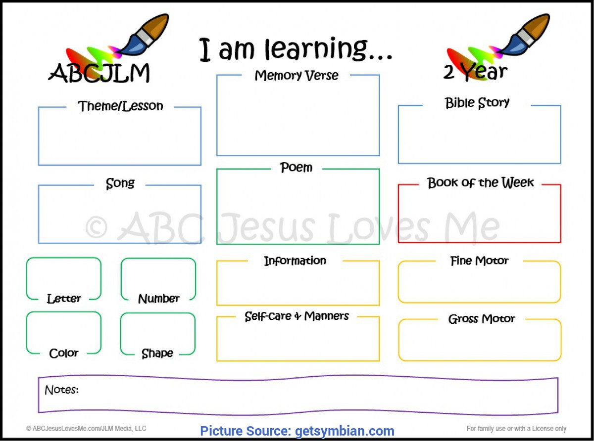 Special 2 Year Old Lesson Plan Themes Two Year Old Lesson