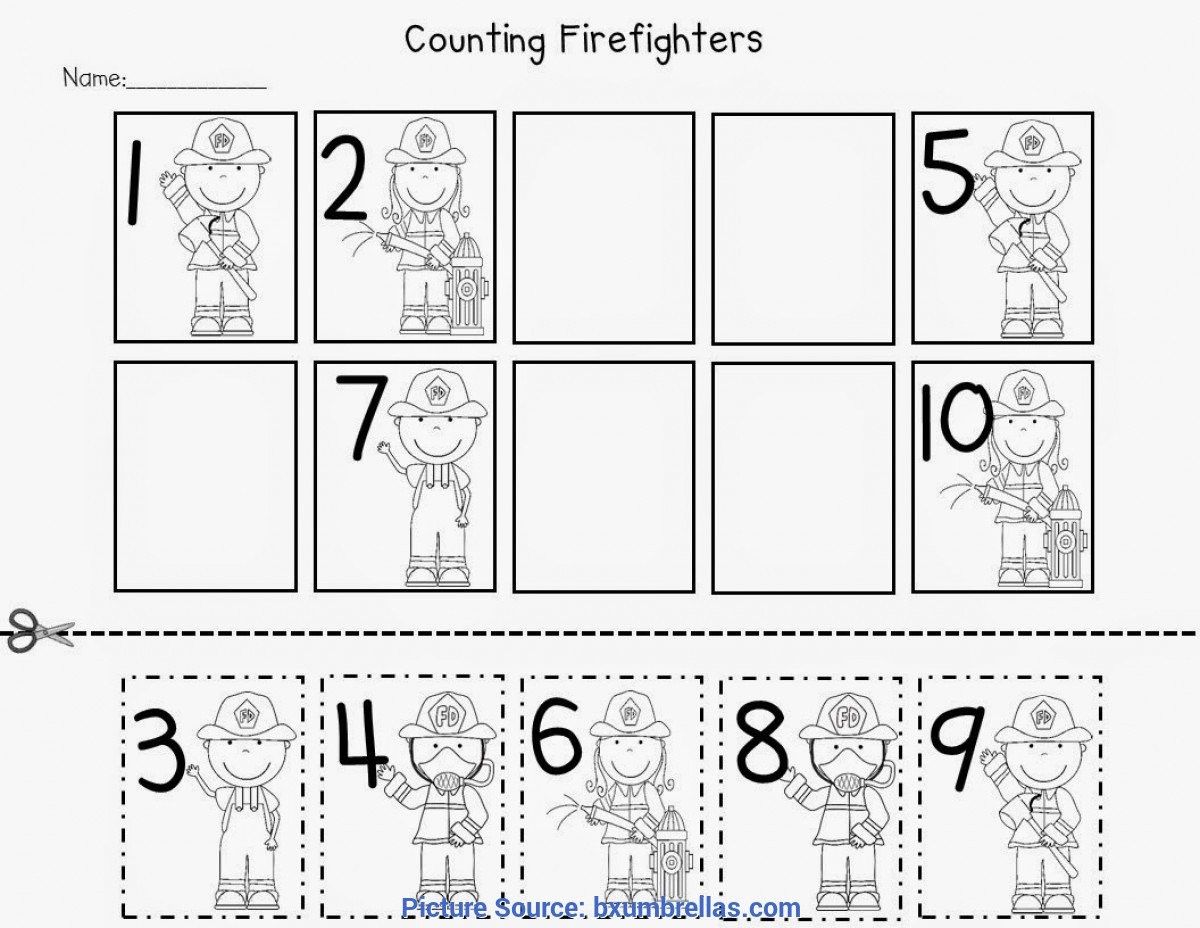 Special Community Helpers Math Activities For Preschoolers Community Workers Printables