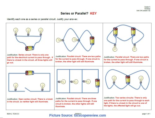 small resolution of Electricity year 4 worksheets