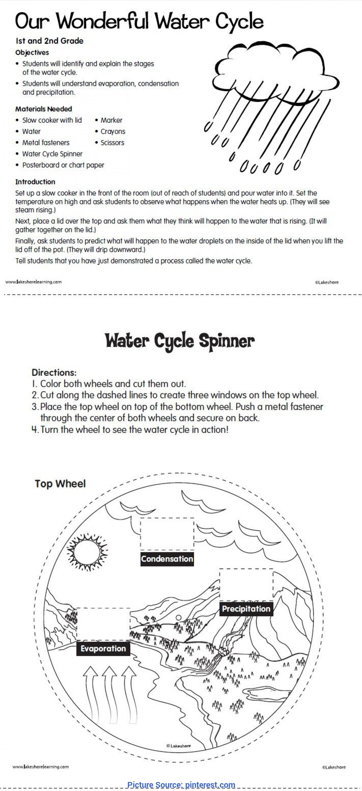 hight resolution of Water Conservation Worksheets For 2nd Grade   Printable Worksheets and  Activities for Teachers